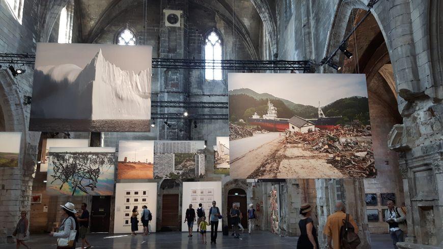 Installazione al festival Les Rencontres D'Arles